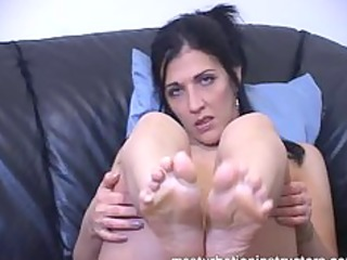 want a footjob the teacher is ready to give one