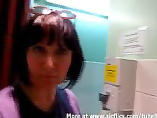 fisting my wazoo in a public toilet and in the car