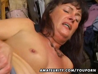 amateur wife anal and oral job with facial cumshot