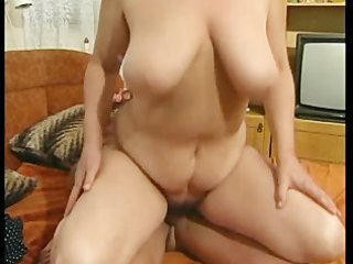 busty granny got her hairy twat fucked