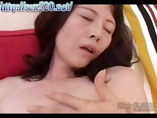 oriental babe vibrates herself then goes outdoors