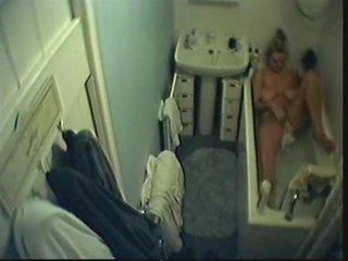spycam in my home washroom caught mama