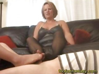 double mother i footjob