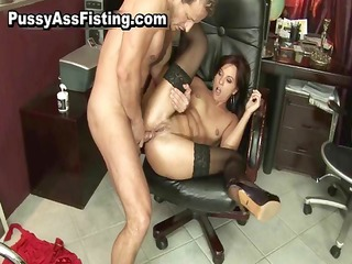 excited slut gets her gaping backdoor part7