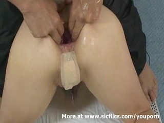 fisting the wifes ass and extraordinary anal