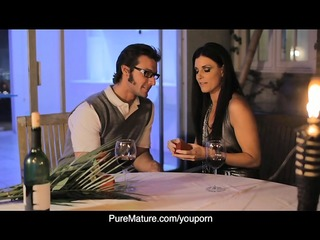 puremature candlelight anal with hot mamma india