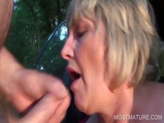 busty older throat fucking dick