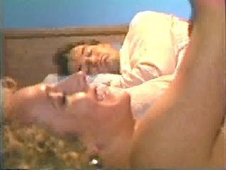 wife gets screwed as husband tries to sleep