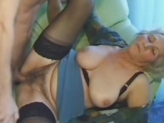 old dilettante aged wife sucks and bonks with cum