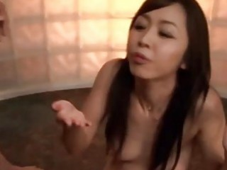 oriental mother i enjoying the results of a