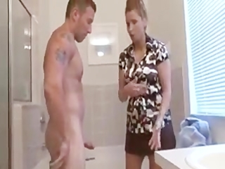 sexy mamma blows boyfriend