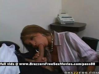 older redhead doxy at work receives a oral-job