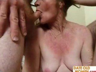 horny granny needs six dicks