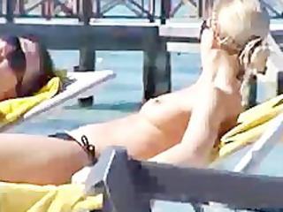 incredible new russian pair wife beach punta cana