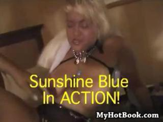 slutty old golden-haired granny sunshine blue