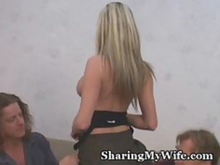 hubby likes sharing wife