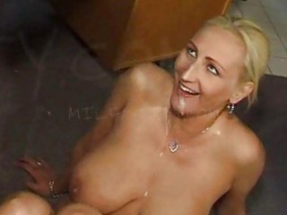 cum swallowing d like to fuck wench with large