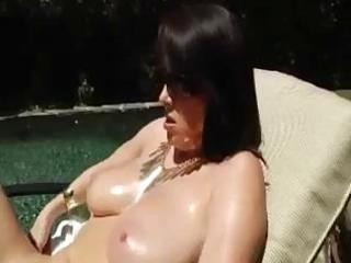 sexy ravenous milf with huge tits makes this dark