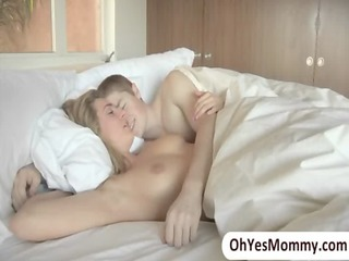 blonde aged stepmom darryl hanah seduces her