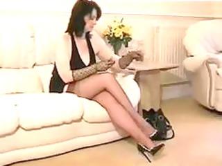 nylon granny in ffstockings older mature porn