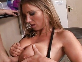 blonde d like to fuck with large breasts riding a