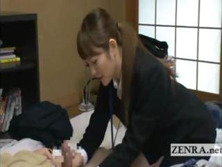 japan mother i marital-device saleswoman gives