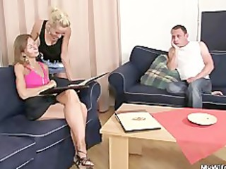 she is rides her son in law cock