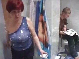 mama and chap having sex in wc