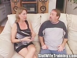 bitch wife anal intervention creampie