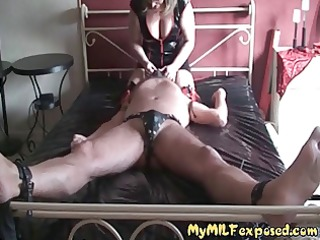 my milf stripped - aged wench in lingerie