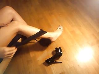 ladymm italian milf, high heels and hose