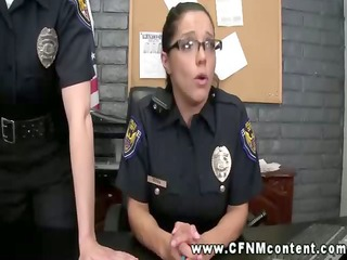 sexually excited police women find their targets