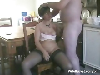 middle aged pair homemade sex