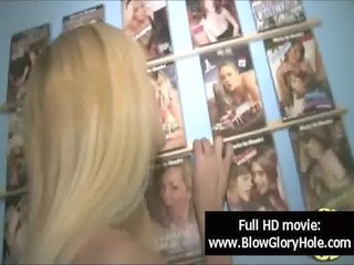 gloryhole - sexy breasty chicks love engulfing