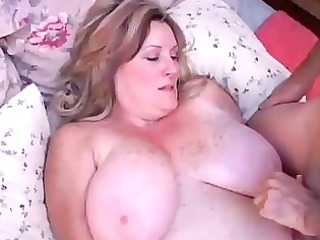 beautiful mature bbw deedra enjoys cum on her