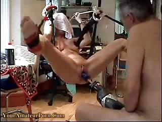 aged housewife hard orgasm