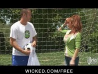 big-tit british redhead soccer mama lia lor fucks