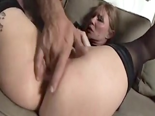 pretty old grandmother can live out of to anal3
