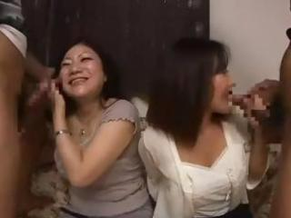wicked asian mama and her youthful daughter get