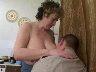 aged russian seduces plump chap