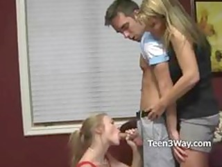 teen and d like to fuck share sucking ramrod of