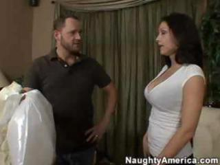 horny latina mom bonks a juvenile man