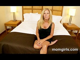 blond milf loves young pecker