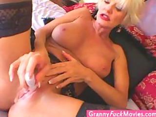 extraordinary super sexy blonde granny