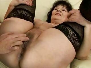 horny granny getting screwed nice-looking hard