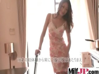 sexy japanese breasty hot milf acquire
