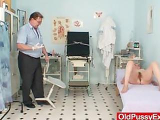 curly pussy lady tamara embarrassing doctor exam