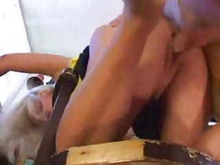 older woman fuck youthful boy