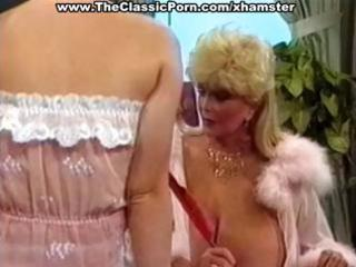 busty aged classic blonde star and her lovely