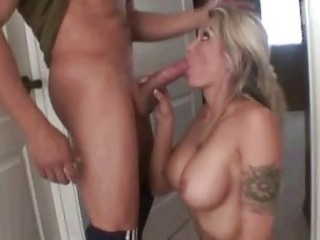 milf sucks penis in advance of bubble fun where